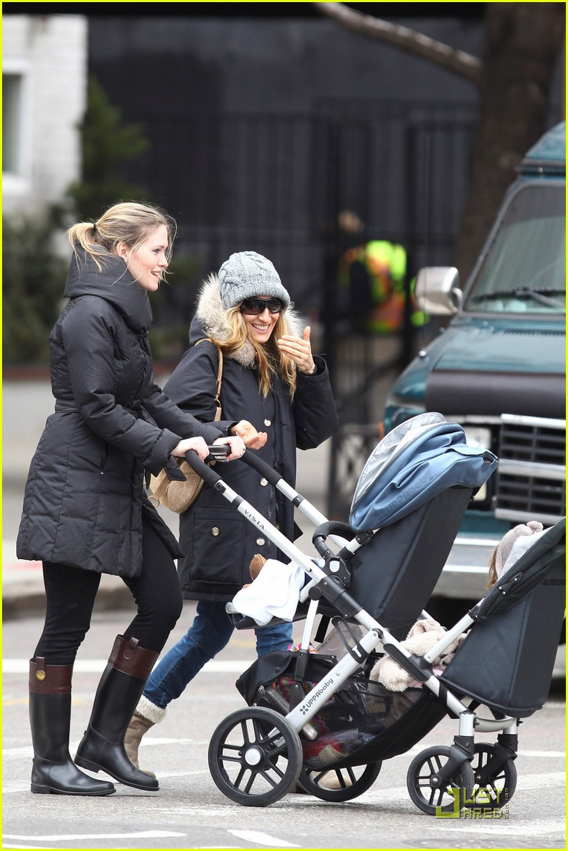 sarah jessica parker twins grocery shopping 07