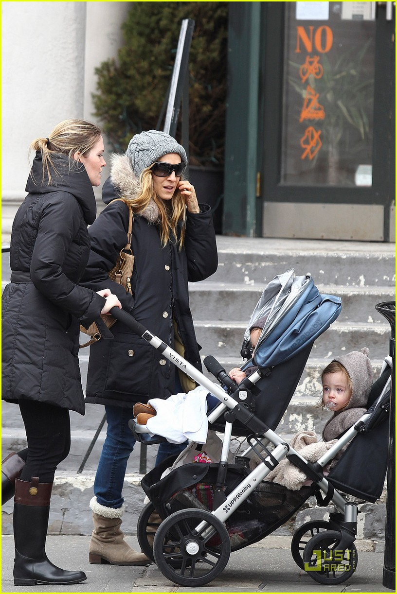 sarah jessica parker twins grocery shopping 082529671
