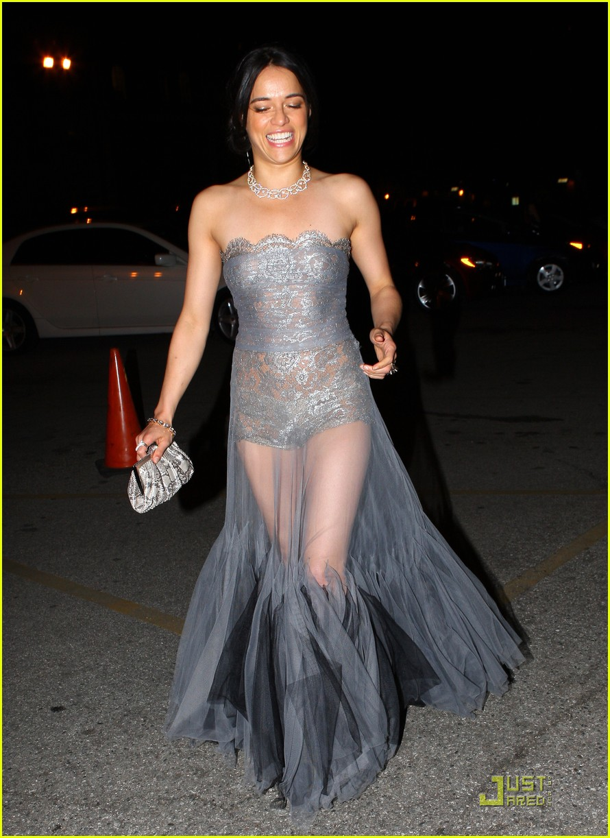 michelle rodriguez sheer dress 052524210