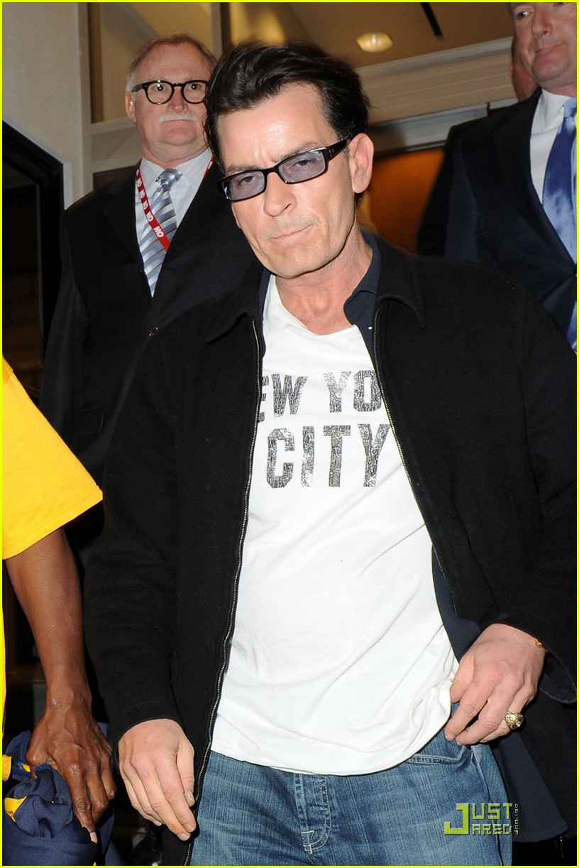 charlie sheen my motto is to enjoy every moment 012524228