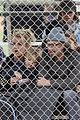 britney spears little league game  06