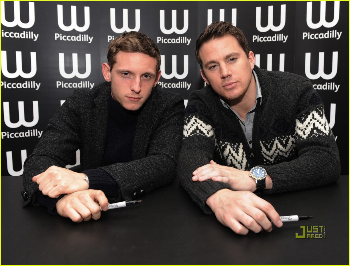 channing tatum jamie bell sign eagle 132526744