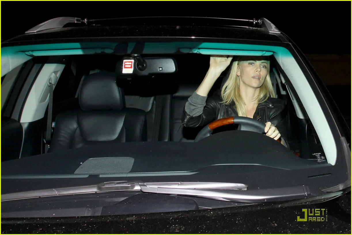 charlize theron dines with a mystery male 102524483