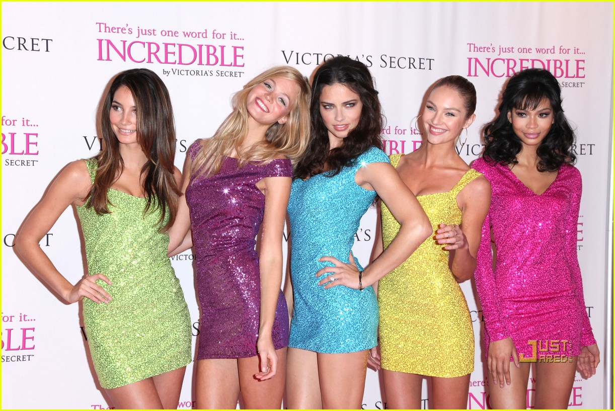 victorias secret angels incredible 292524267
