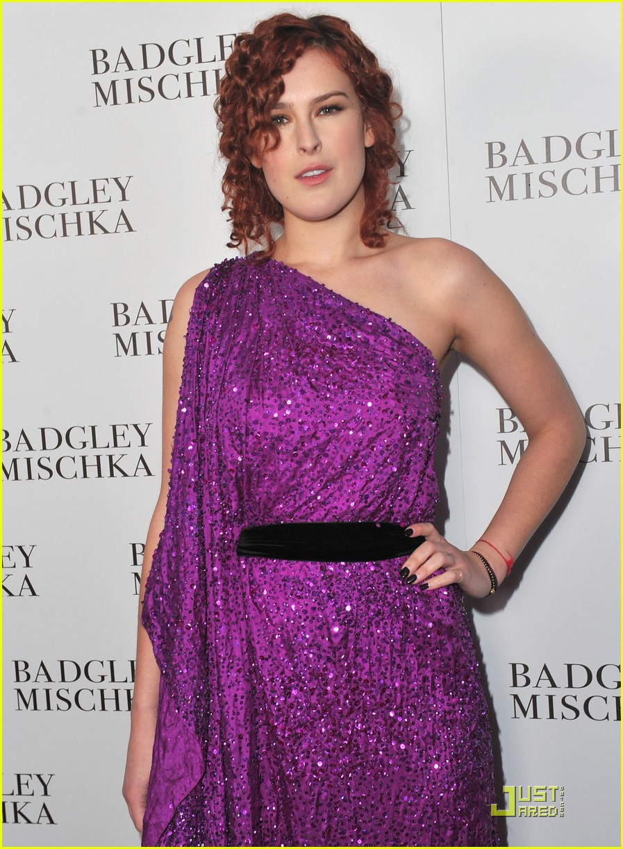 rumer willis badgley mischka flagship opening 022524708