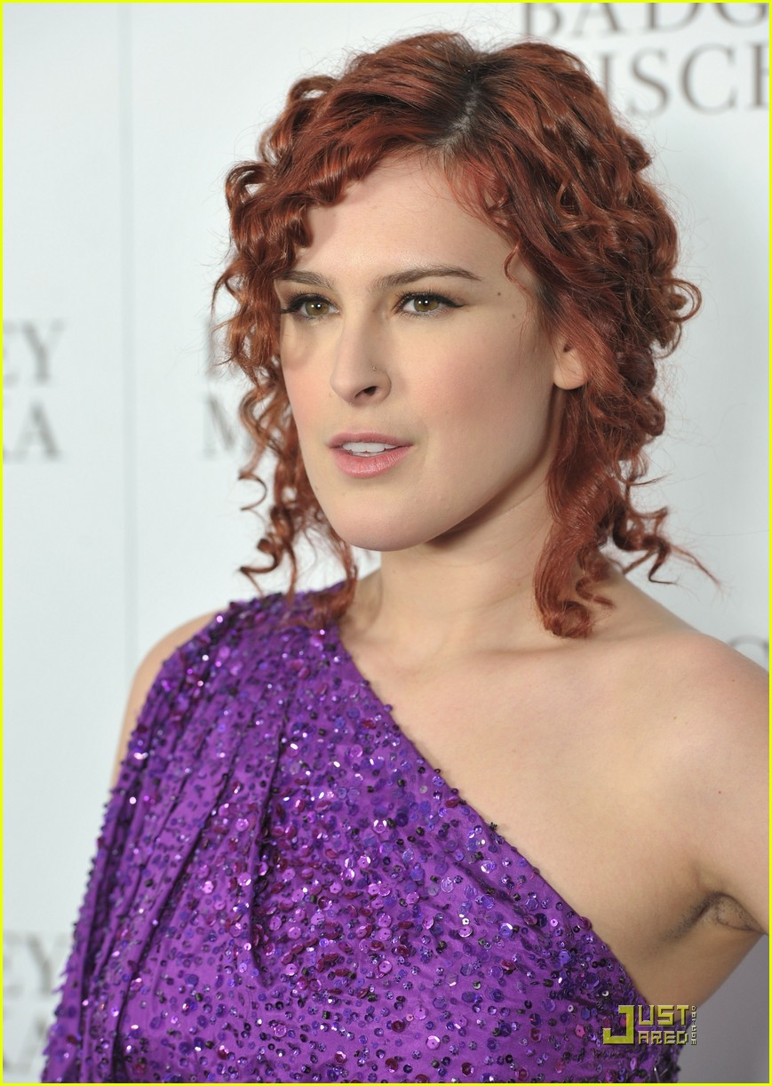 rumer willis badgley mischka flagship opening 04