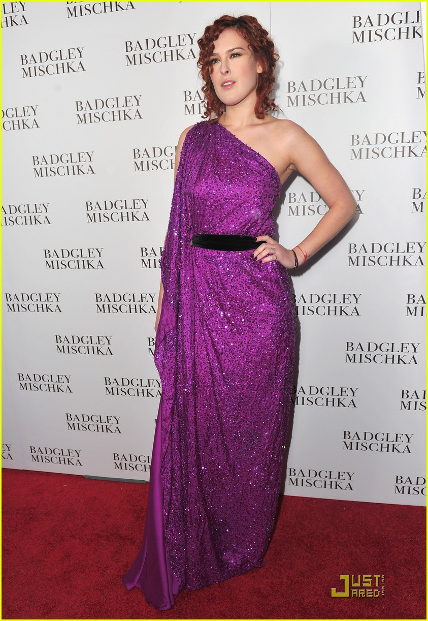 rumer willis badgley mischka flagship opening 112524717