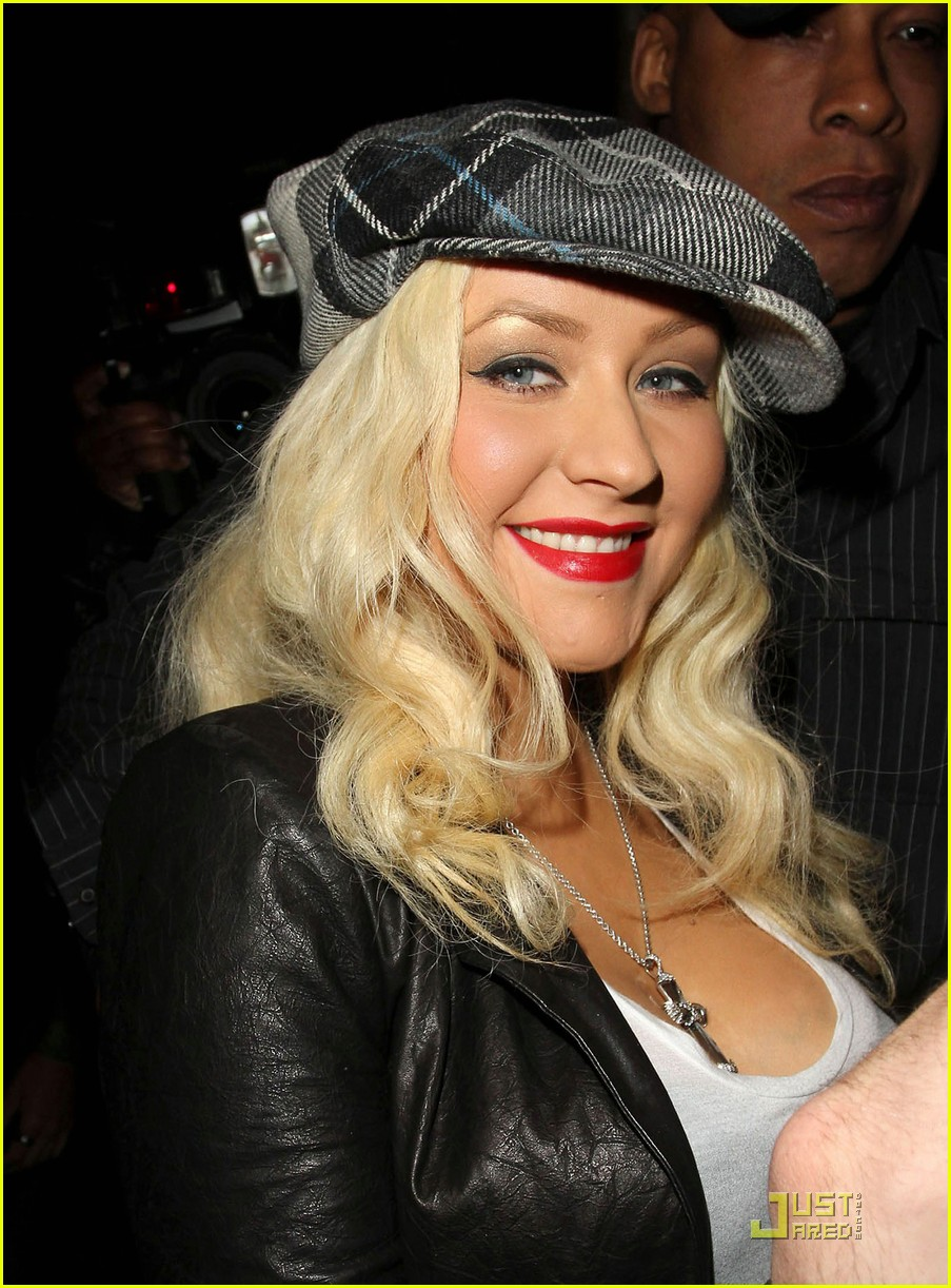 christina aguilera linda perry concert with matthew rutler 022537340