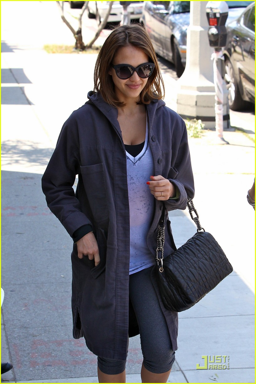 jessica alba afternoon fun in west hollywood 10