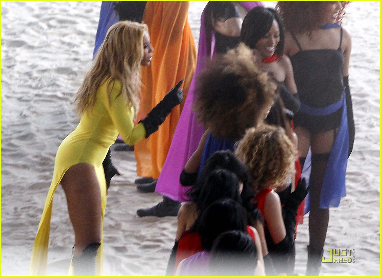 beyonce music video shoot day 3 012535290