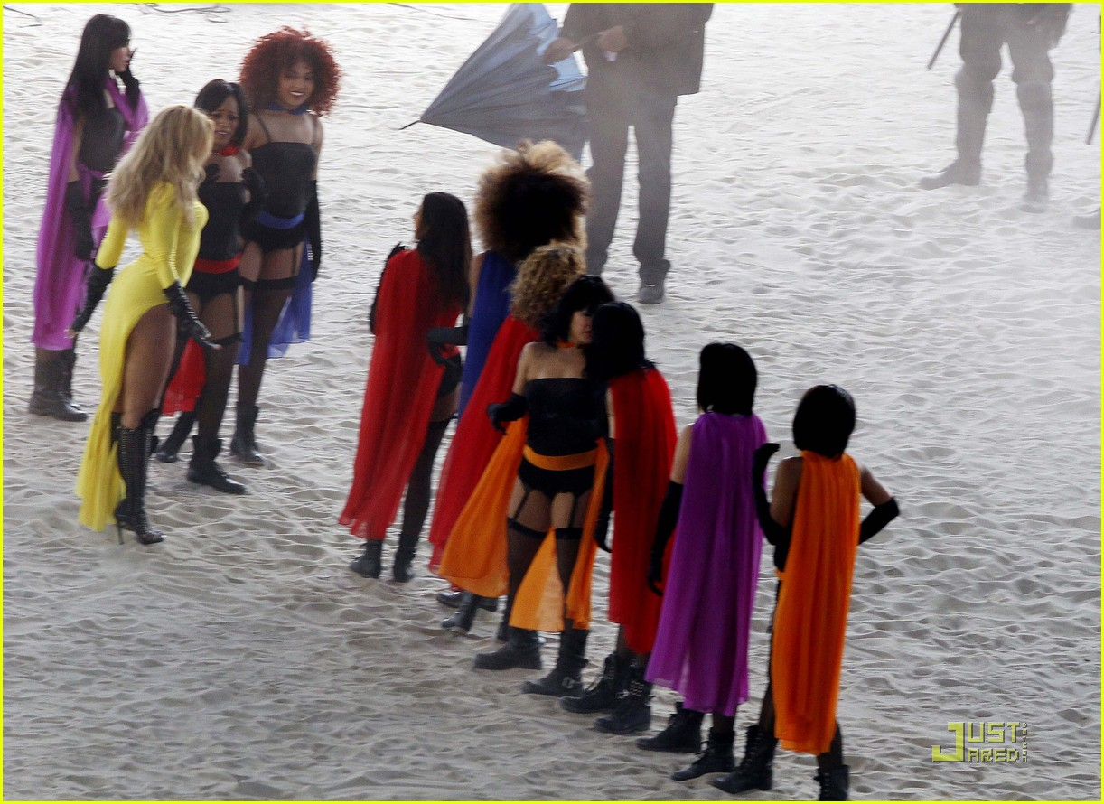 beyonce music video shoot day 3 06