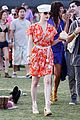 dita von teese orange dress coachella 08