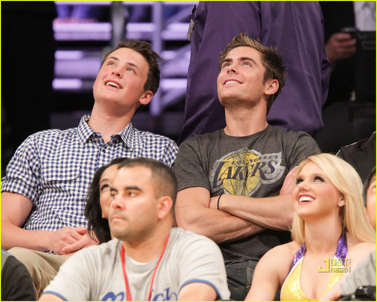 zac efron dylan lakers game 052537119