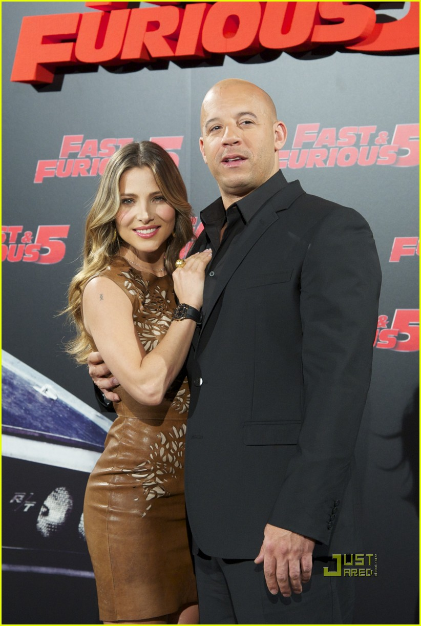elsa pataky vin diesel fast 5 photo call madrid 012538379