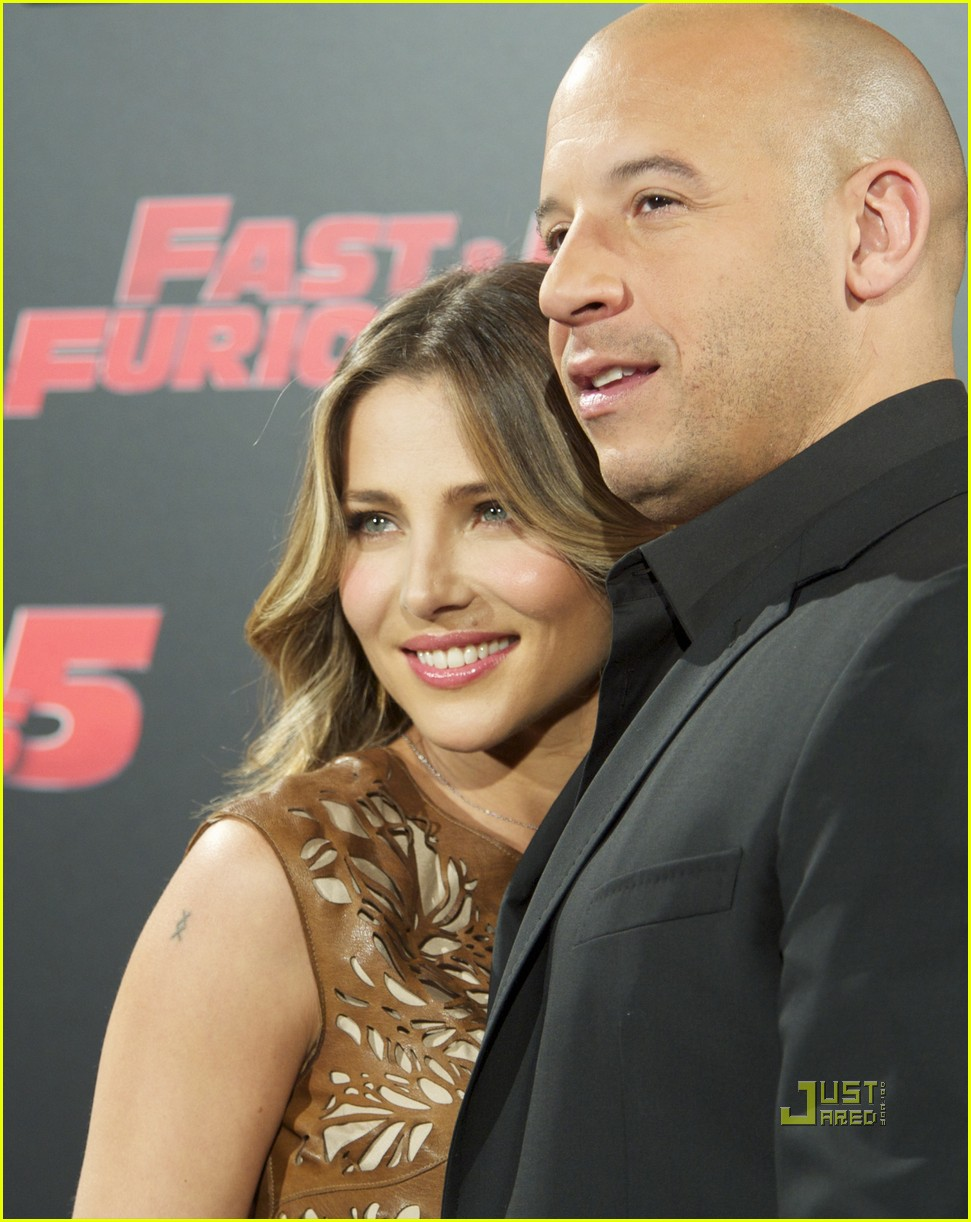 elsa pataky vin diesel fast 5 photo call madrid 042538382