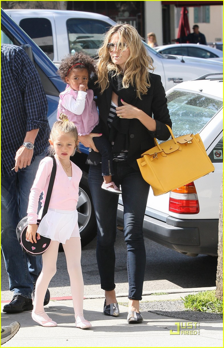 heidi klum family time with the kids 132534288