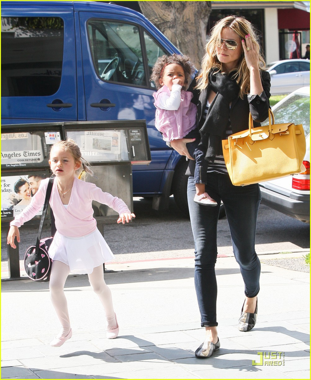 heidi klum family time with the kids 162534291