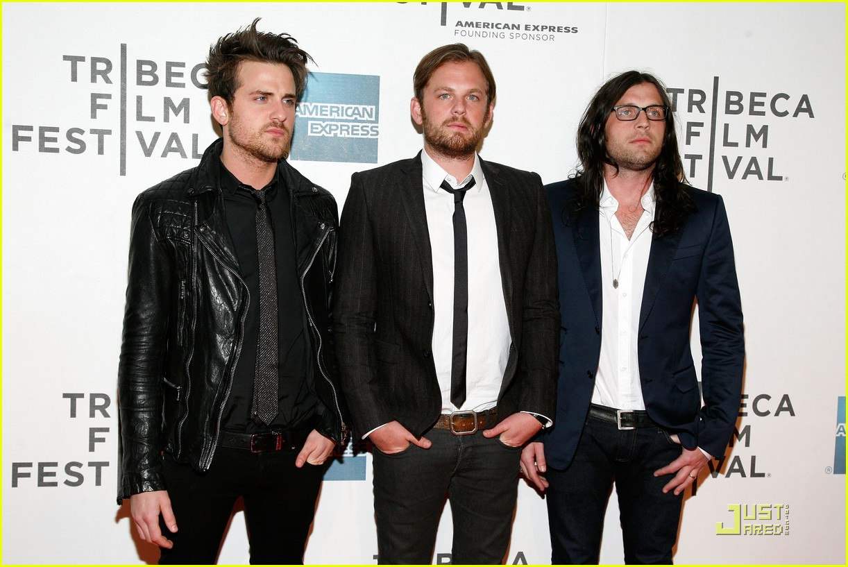kings of leon 2011 tribeca film festival 01