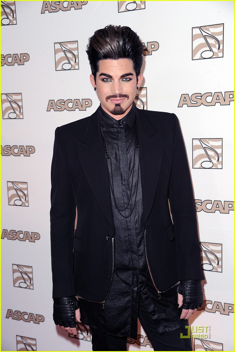 adam lambert ascap awards 01