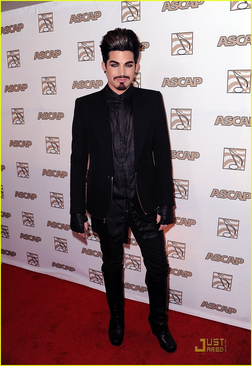 adam lambert ascap awards 02