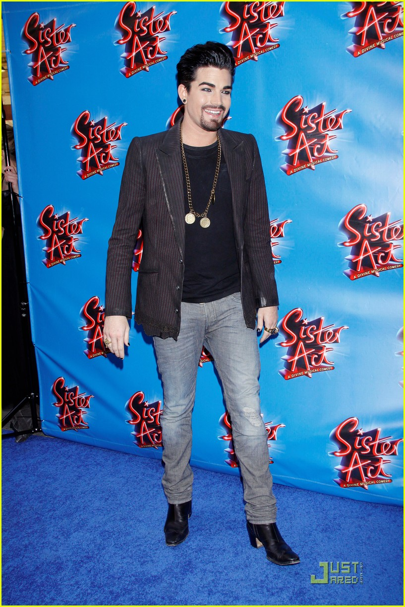 adam lambert facial hair for sister act 10