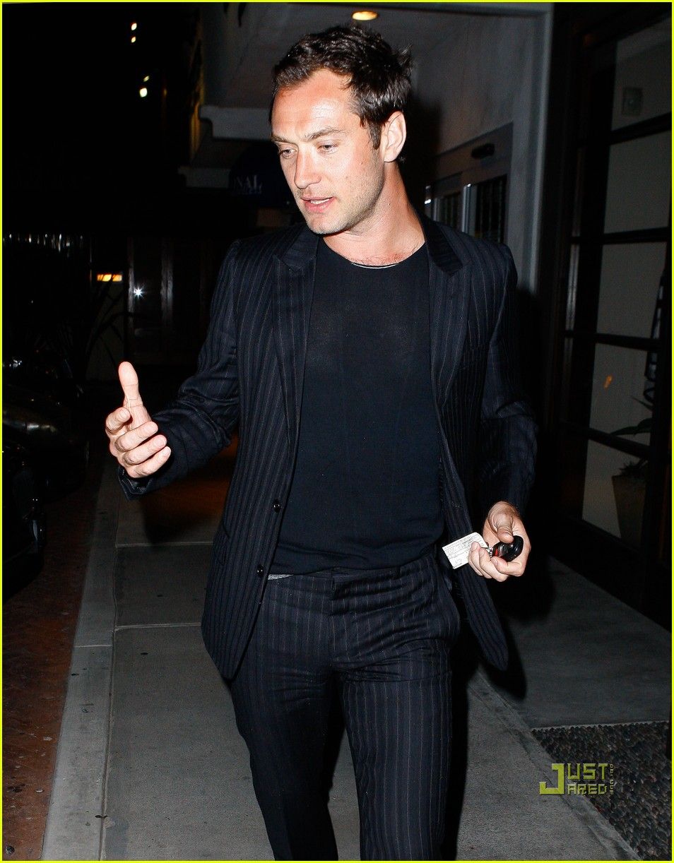 jude law rafferty nobu 132533654