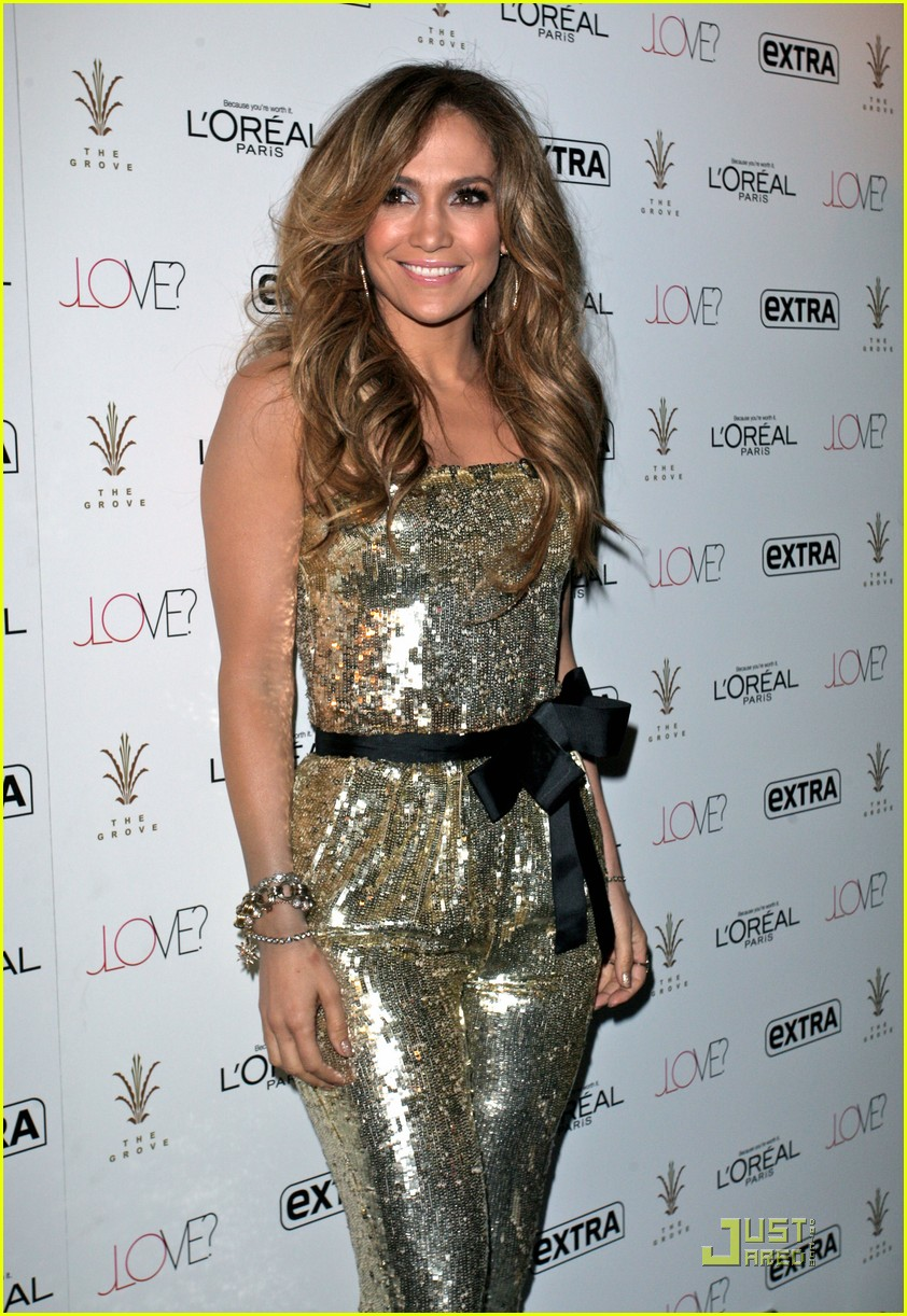 Jennifer Lopez Brings 'Love' to The Grove | Jennifer Lopez Photos ...