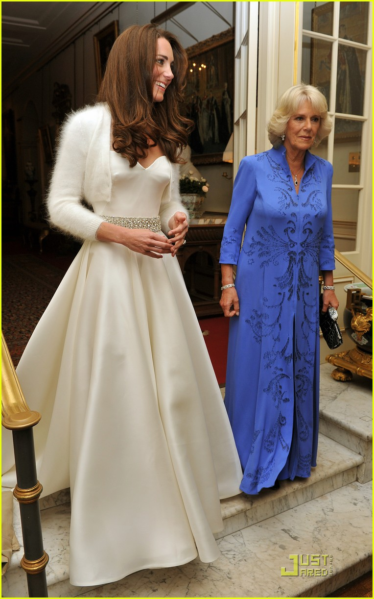 Kate Middleton: Second Wedding Dress!: Photo 2539366 | Kate ...