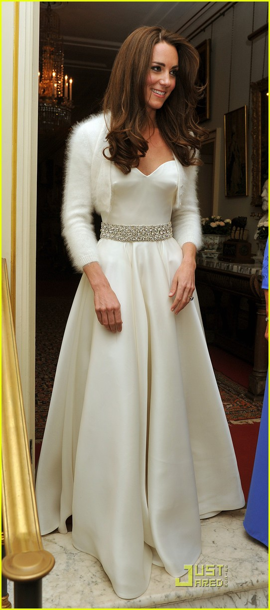 Kate Middleton: Second Wedding Dress!: Photo 2539372 | Kate ...