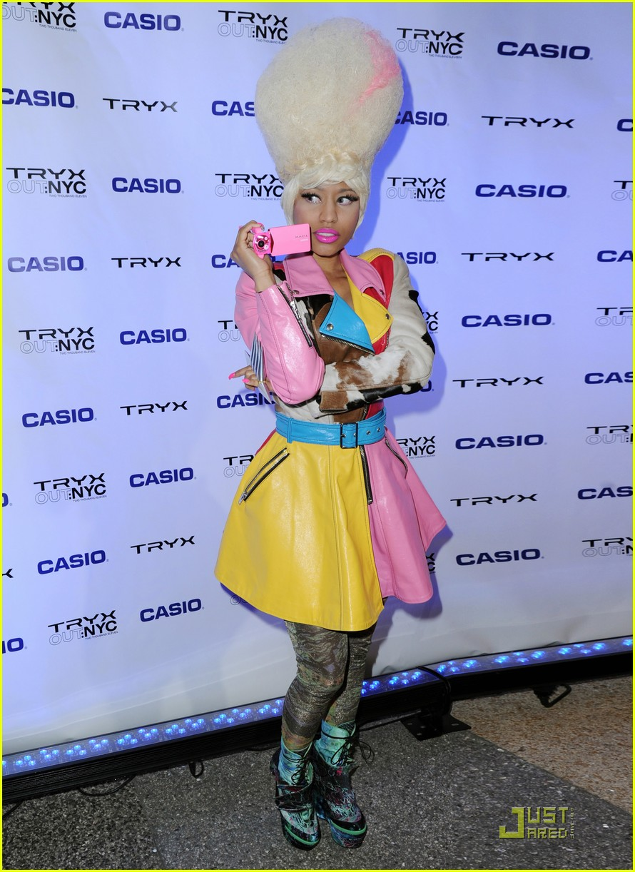 nicki minaj tryx out kickoff party 022533850