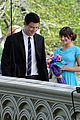 cory monteith lea michele central park glee 01
