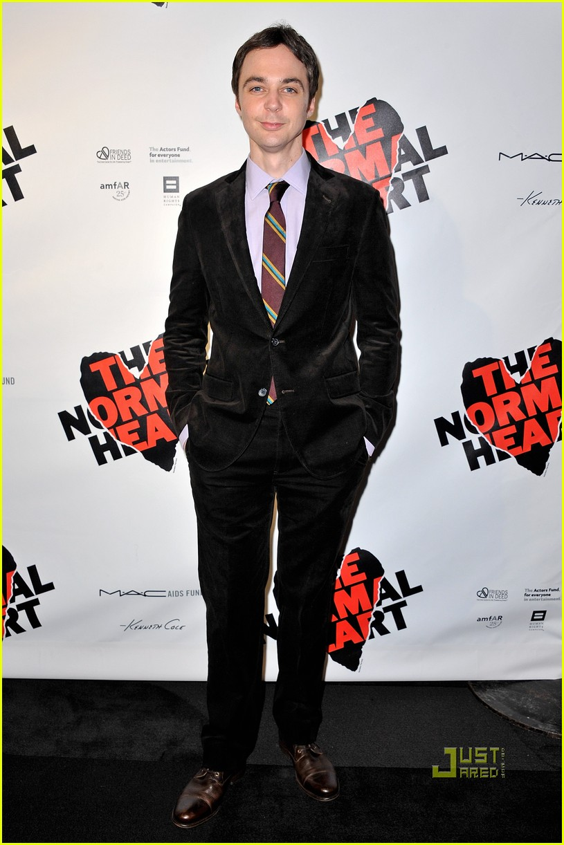 lee pace jim parsons normal heart opening night 05