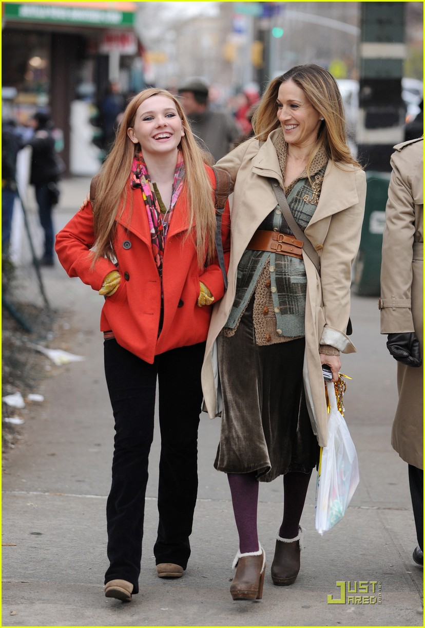 Sarah Jessica Parker Amp Abigail Breslin Mother Daughter