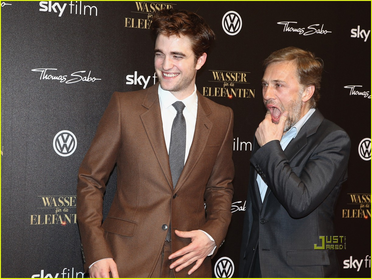 robert pattinson water for elephants premiere berlin 01