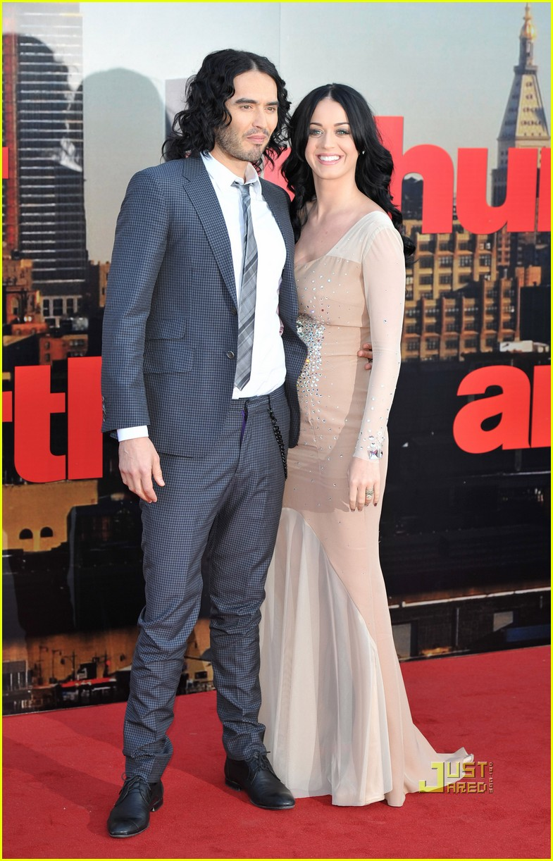 katy perry russell brand arthur uk premiere 062536548
