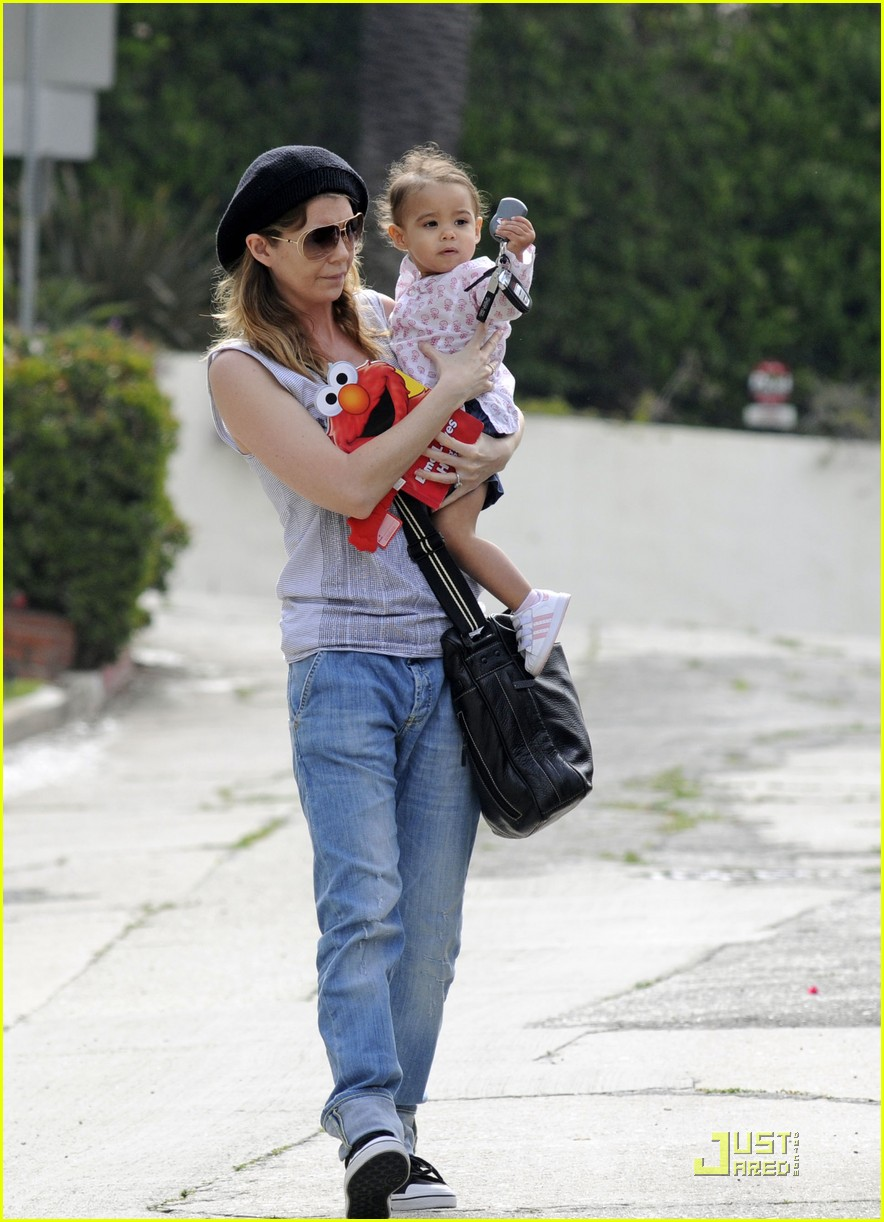 ellen pompeo day out with stella chris ivery 042532470