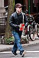 daniel radcliffe west village leather jacket 05