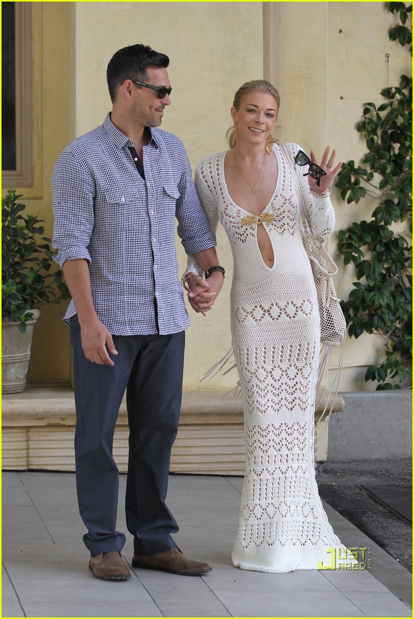 Leann Rimes Ed Cibrian Just Married