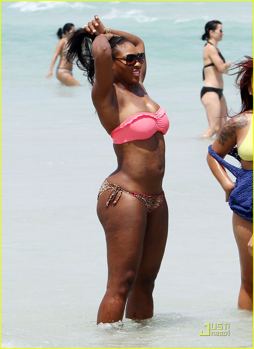 serena williams bikini beach body 122536223