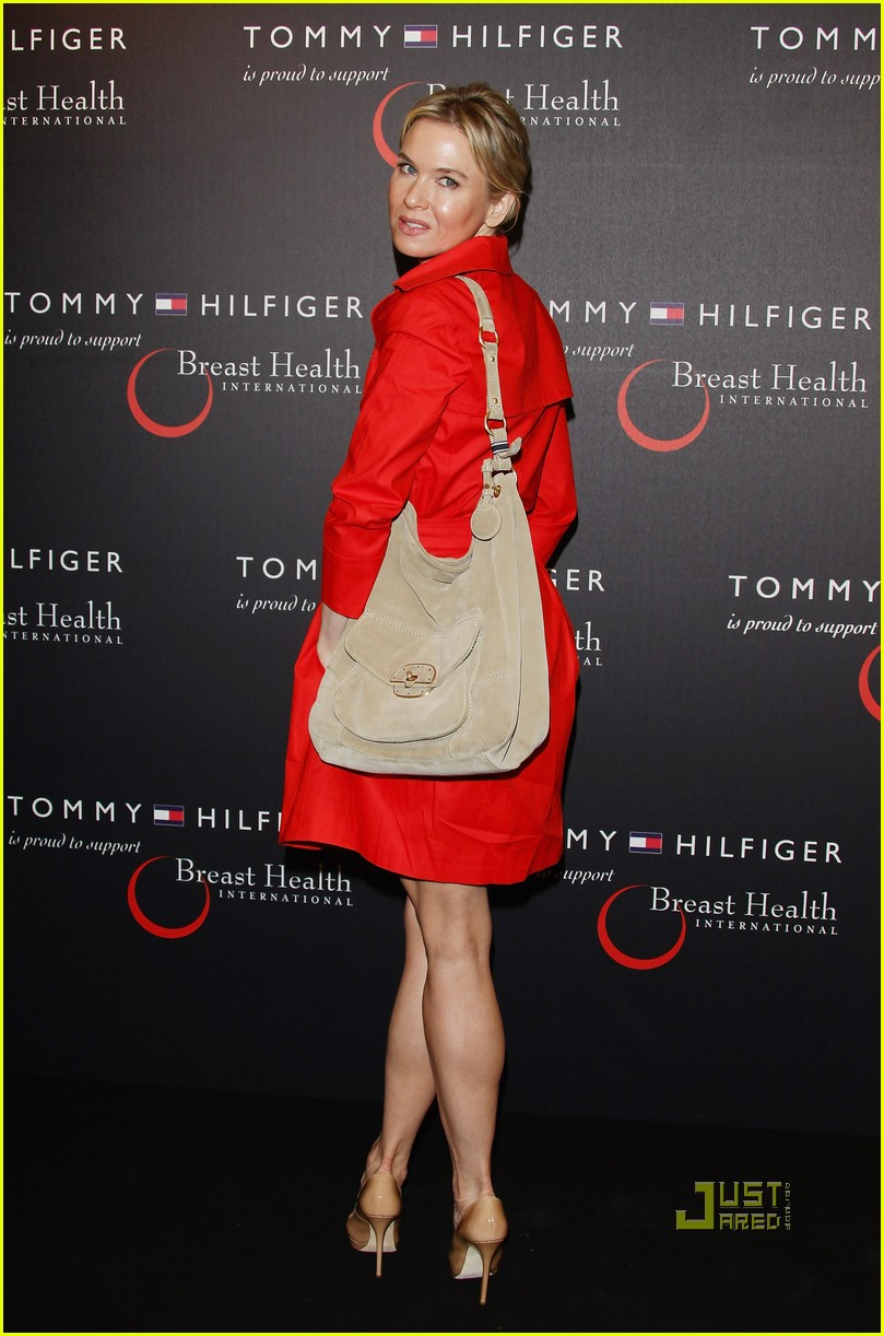 130db3b56d7 Renee Zellweger: Tommy Hilfiger Limited Edition Bag Launch!: Photo ...
