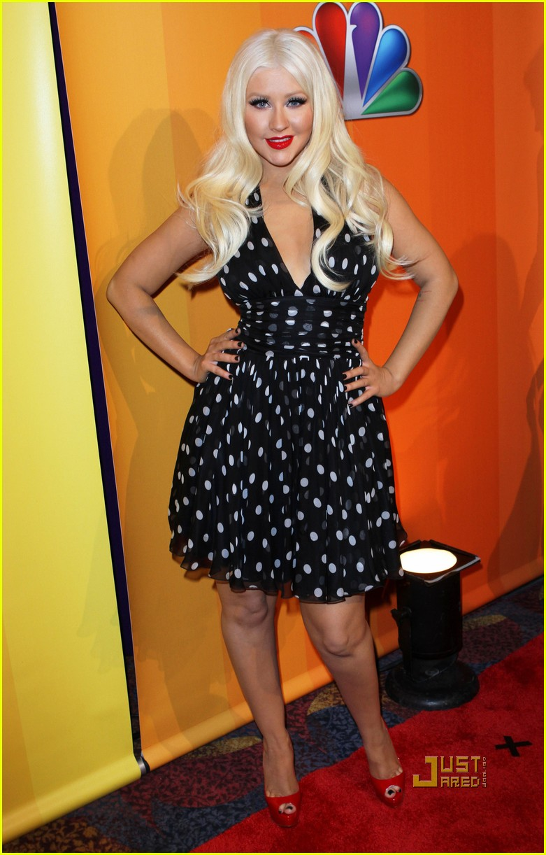 christina aguilera nbc upfronts 022544565