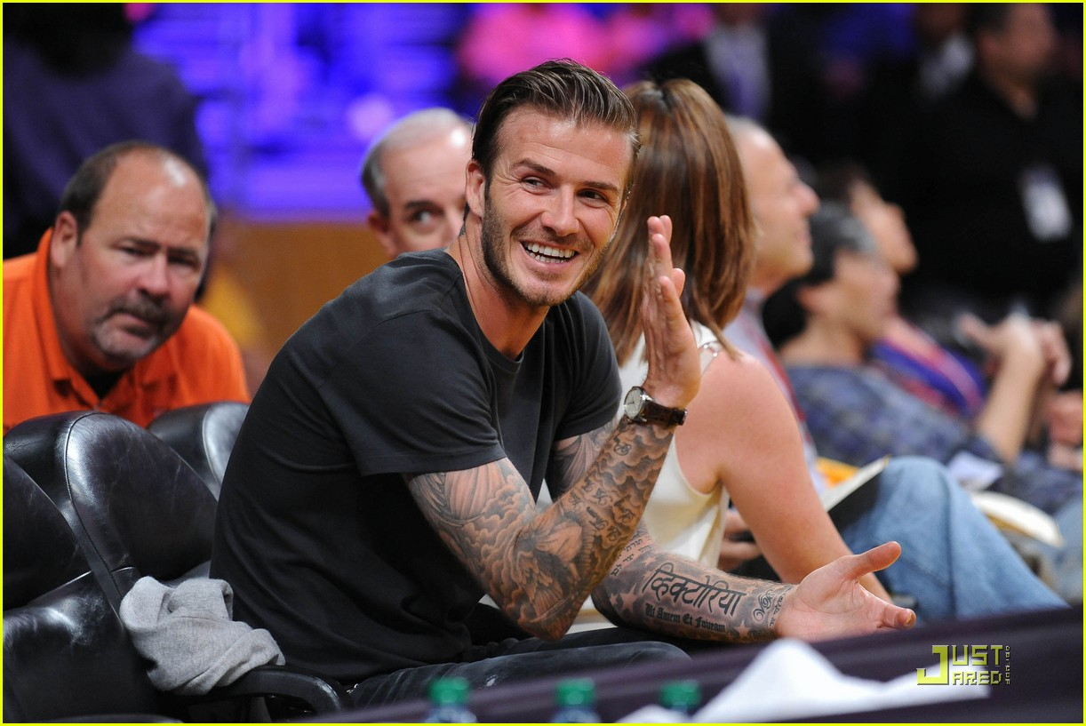 david beckham gordon ramsay watch the lakers lose 02