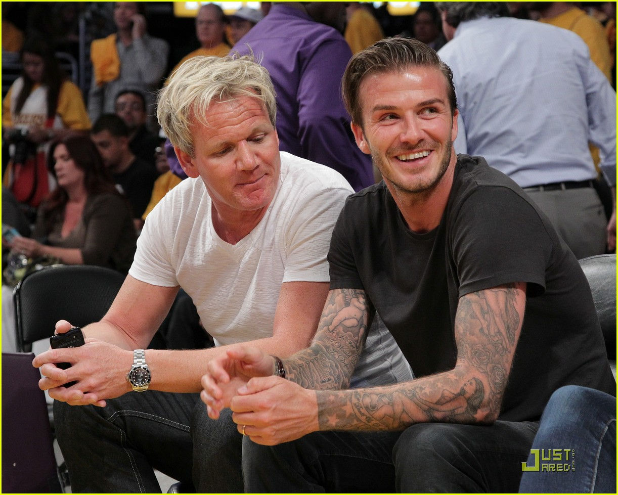 david beckham gordon ramsay watch the lakers lose 03
