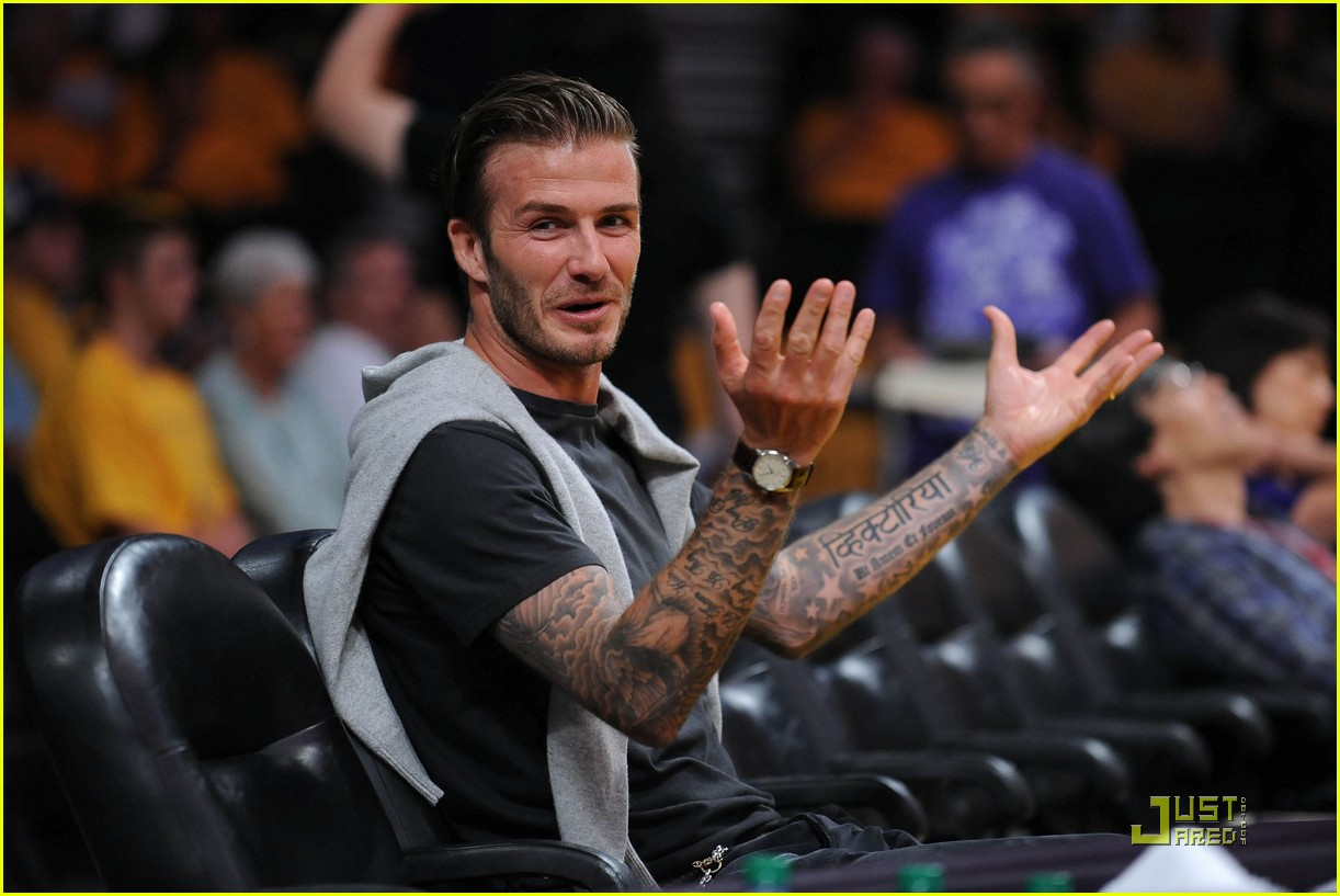 david beckham gordon ramsay watch the lakers lose 042540670
