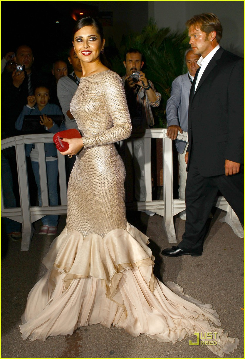 cheryl cole loreal party 03