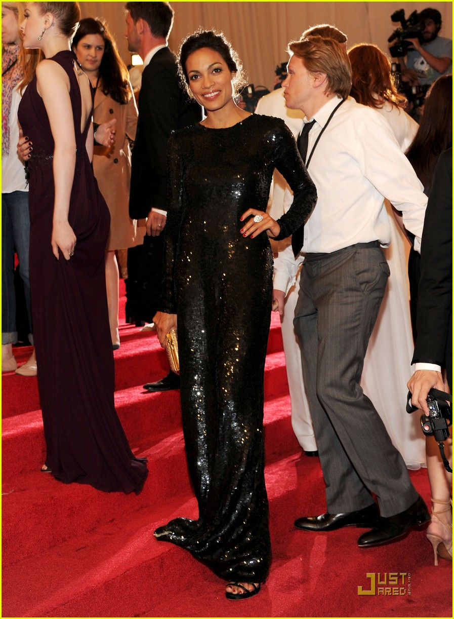 rosario dawson kerry washington mary j blige met ball 2011 12