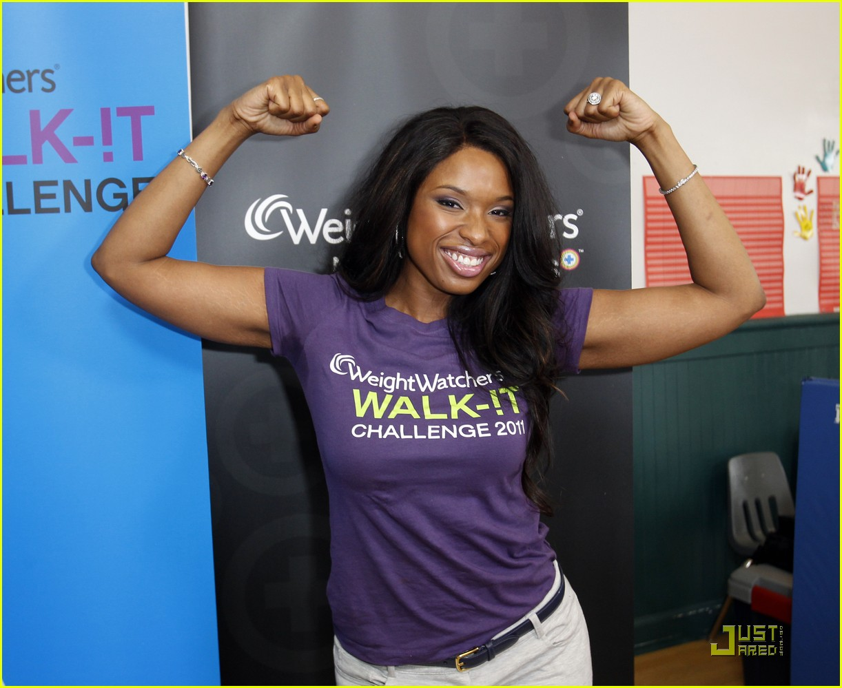 jennifer hudson walk it challenge 01