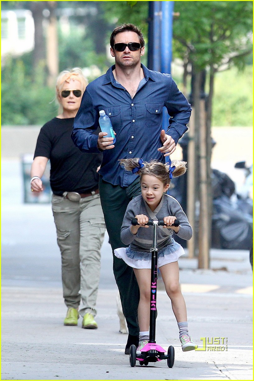 hugh jackman ava scooter chase 03