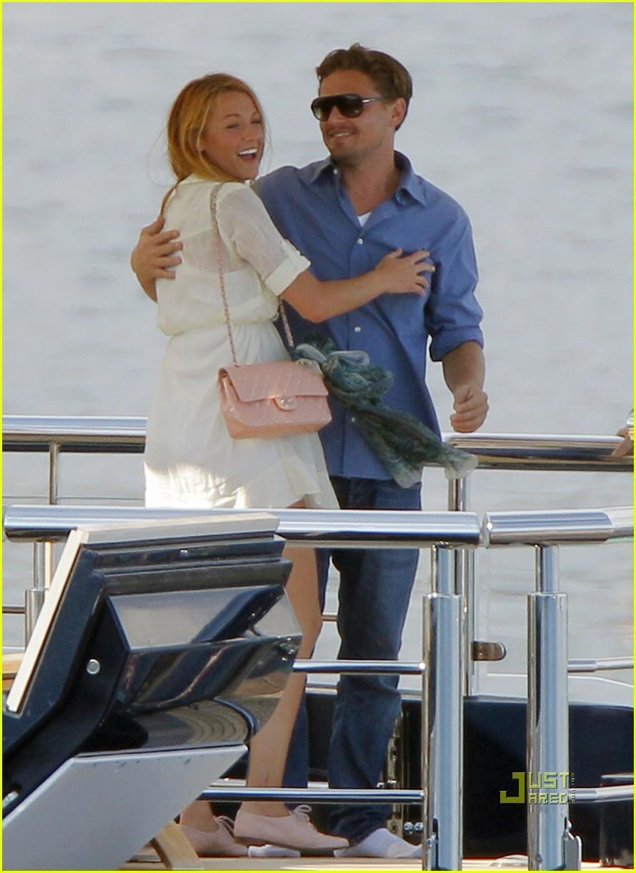 Leonardo Dicaprio Blake Lively Were On A Boat Photo 2544898