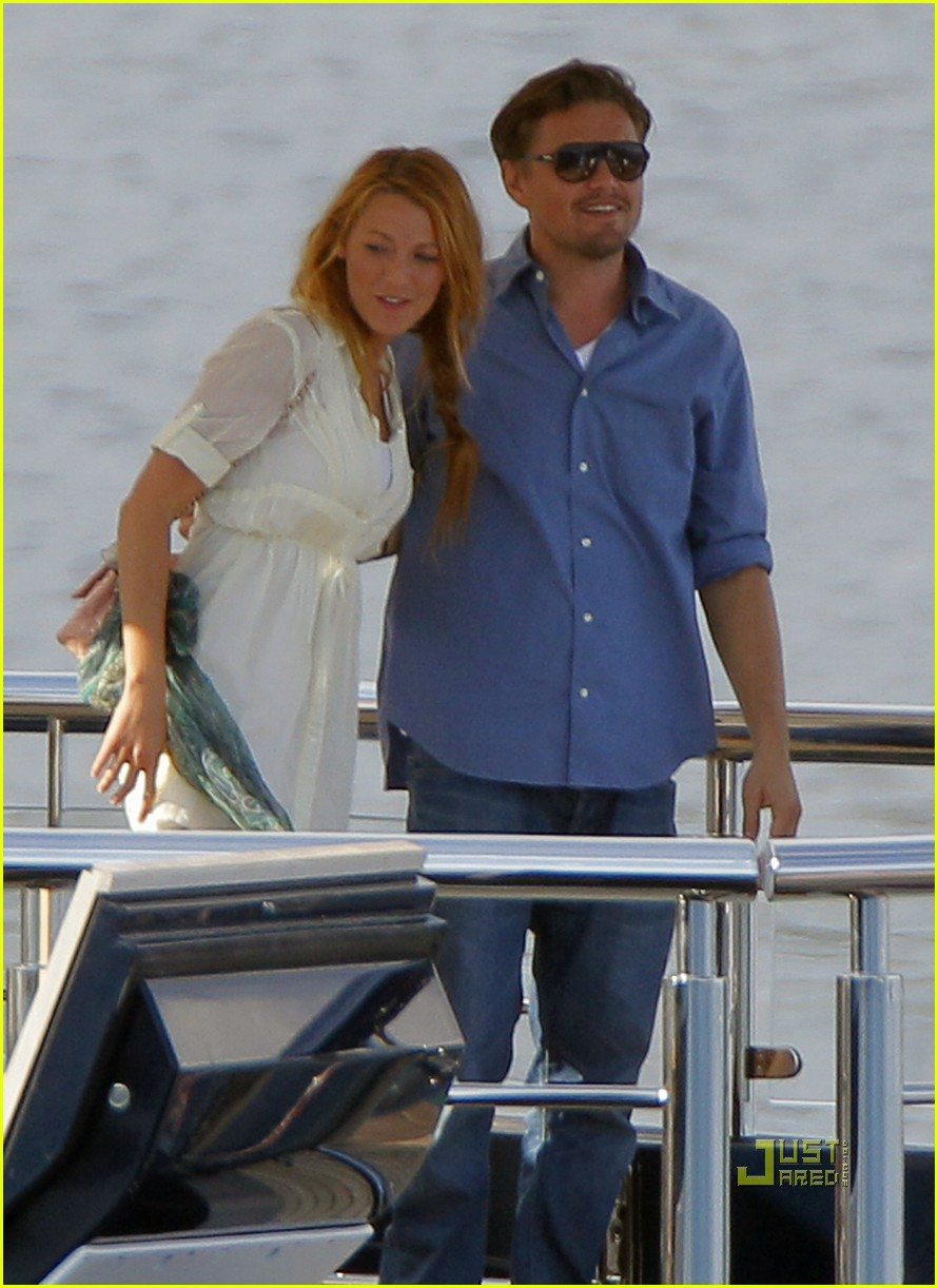 Leonardo Dicaprio Blake Lively Were On A Boat Photo 2544899